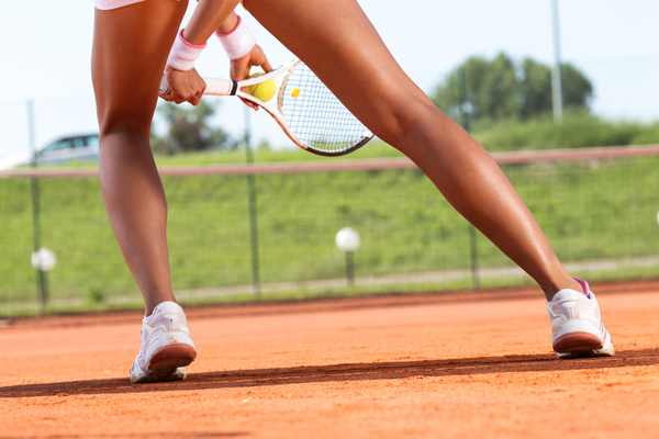 Young Woman Playing Tennis Hd Picture 03 Free Download