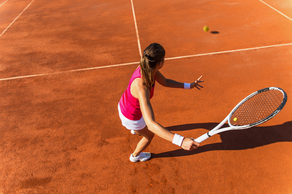 Young Woman Playing Tennis Hd Picture 09 Free Download