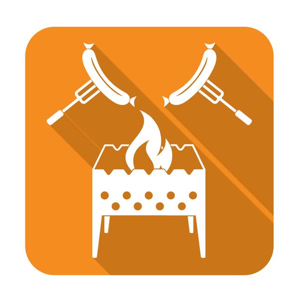 brazier roast sausage icon