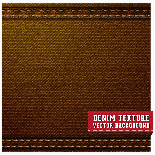 brown denim texture vector background