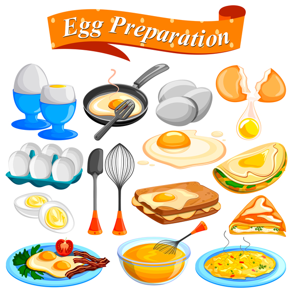 egg preparation vector material