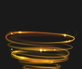 neon rings effects illustration vector 04