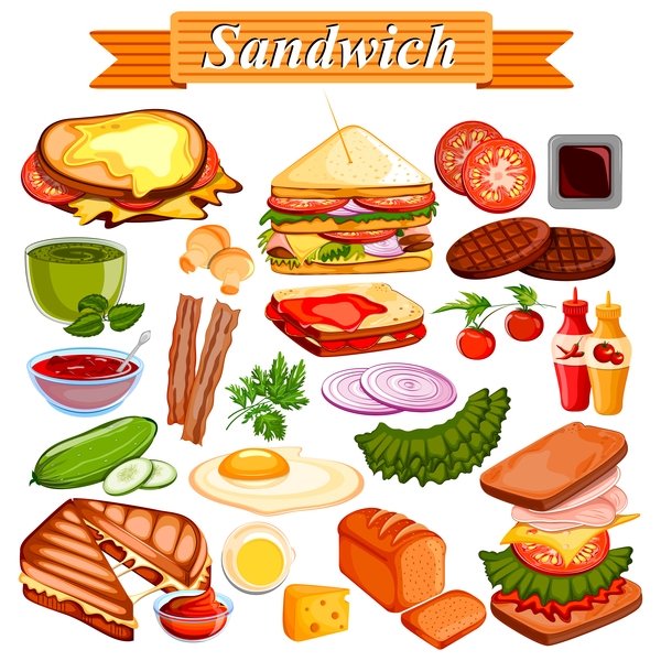 sandwich vector design