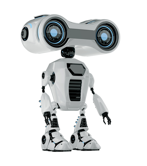 smart robot Stock Photo