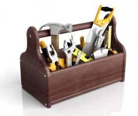 tool kit Stock Photo 03