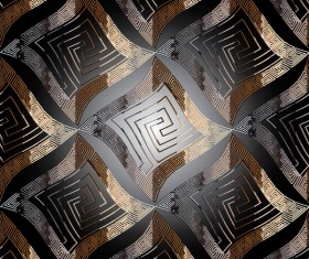 Abstract classical pattern seamless vector 03