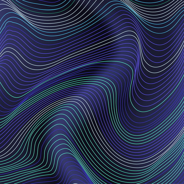 Abstract lines landscape background vector 01