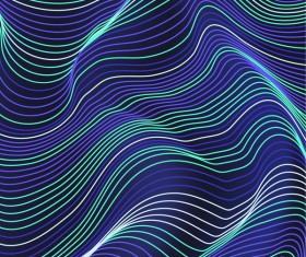 Abstract lines landscape background vector 03