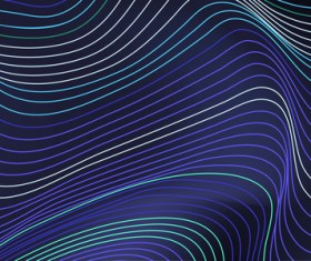 Abstract lines landscape background vector 06