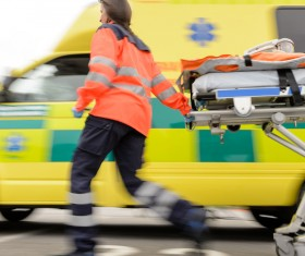 Ambulance and first aid Stock Photo 01