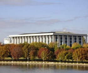 Australian capital Canberra Stock Photo  05