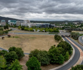 Australian capital Canberra Stock Photo  07