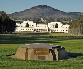 Australian capital Canberra Stock Photo  08