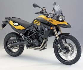 BMW off-road motorcycle Stock Photo