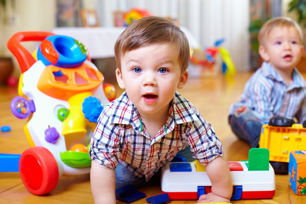Baby Play With Toys Hd Picture Free Download