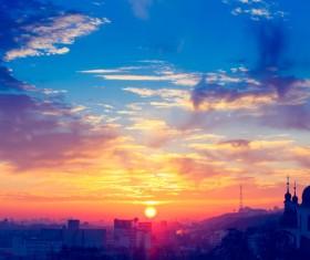 Beautiful city Ukraine Stock Photo 01