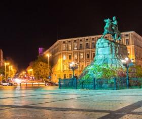 Beautiful city Ukraine Stock Photo 02