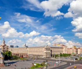 Beautiful city Ukraine Stock Photo 09