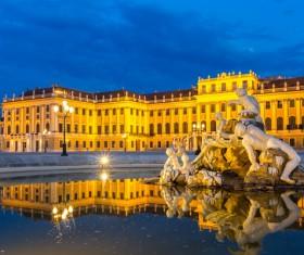 Beautiful city of Austria Stock Photo 04