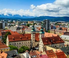 Beautiful city of Austria Stock Photo 10