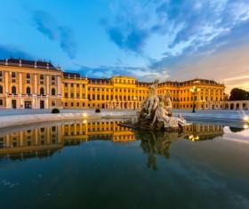Beautiful city of Austria Stock Photo 11