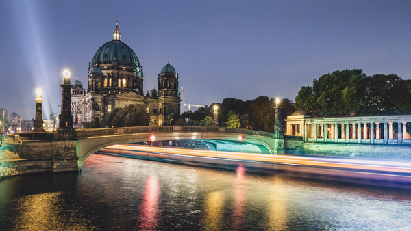 Beautiful city of Berlin Stock Photo 01