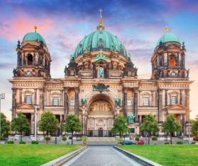 Beautiful city of Berlin Stock Photo 03