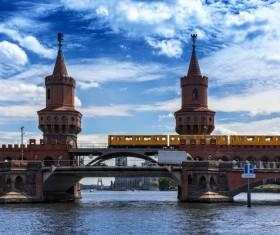 Beautiful city of Berlin Stock Photo 07