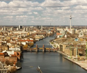 Beautiful city of Berlin Stock Photo 09