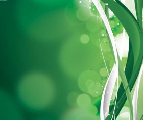 Beautiful green lines background Stock Photo