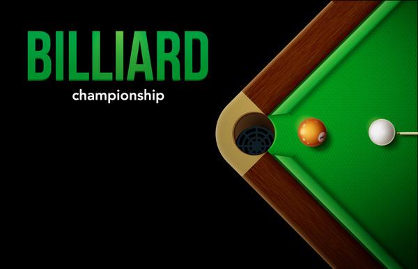 Billiard Table Top View Balls Sport Theme Free Download