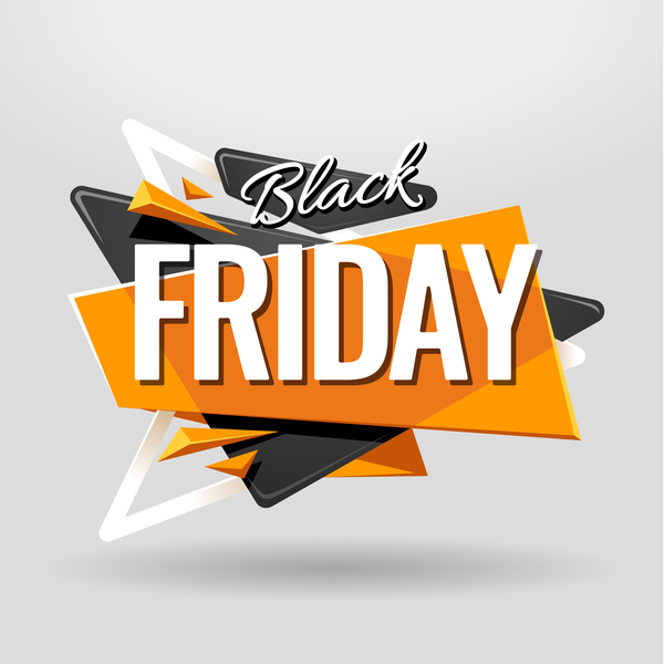 Black Friday Banner Vector 01