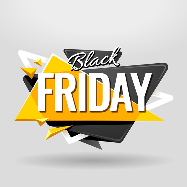 Black Friday Banner vector material 02