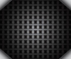 Black plaid background vector material 02