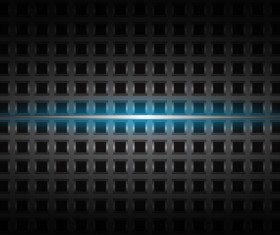 Black plaid pattern with blue light background vector