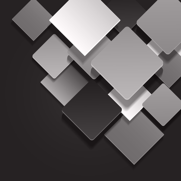Black with whtie and gray background vector