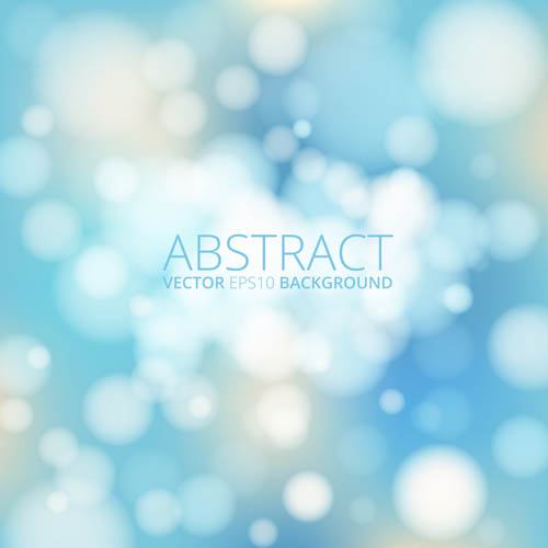 Blue blurs background vector design
