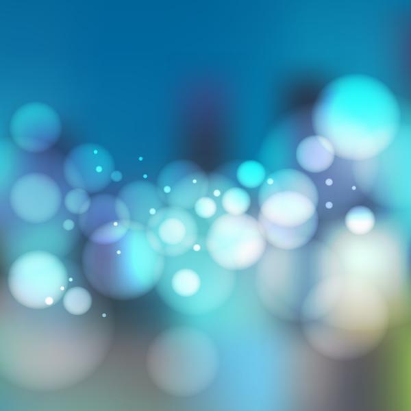 Blurs city night scenery vector