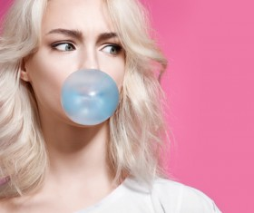 Bubble girl HD picture