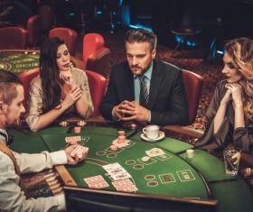 Casino playing card Stock Photo