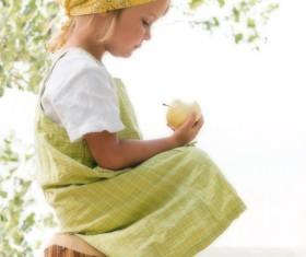 Children photography Stock Photo
