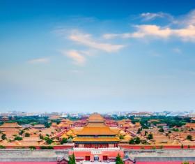 China Forbidden City Stock Photo
