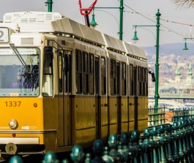 City trams Stock Photo 11