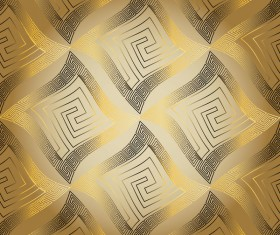 Classical golden seamless pattern vectors 04