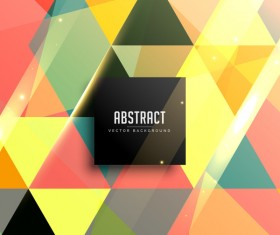 Colorful geometry background abstract vector 06