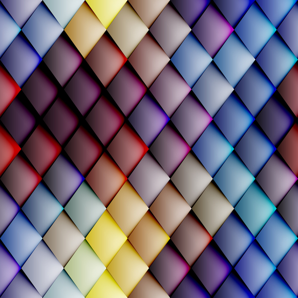 Colorful weave background vector