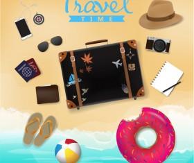 Creative travel template vectors material 01