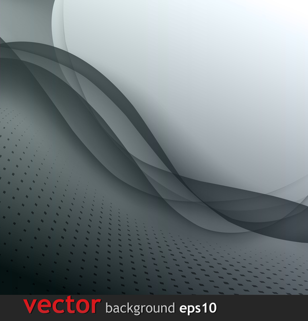Dark gray abstract background vector