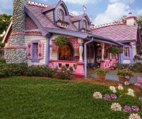 Disney villa Stock Photo
