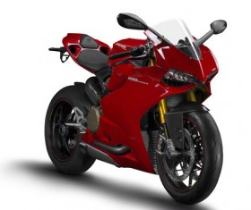 Ducati Motorcycle Stock Photo